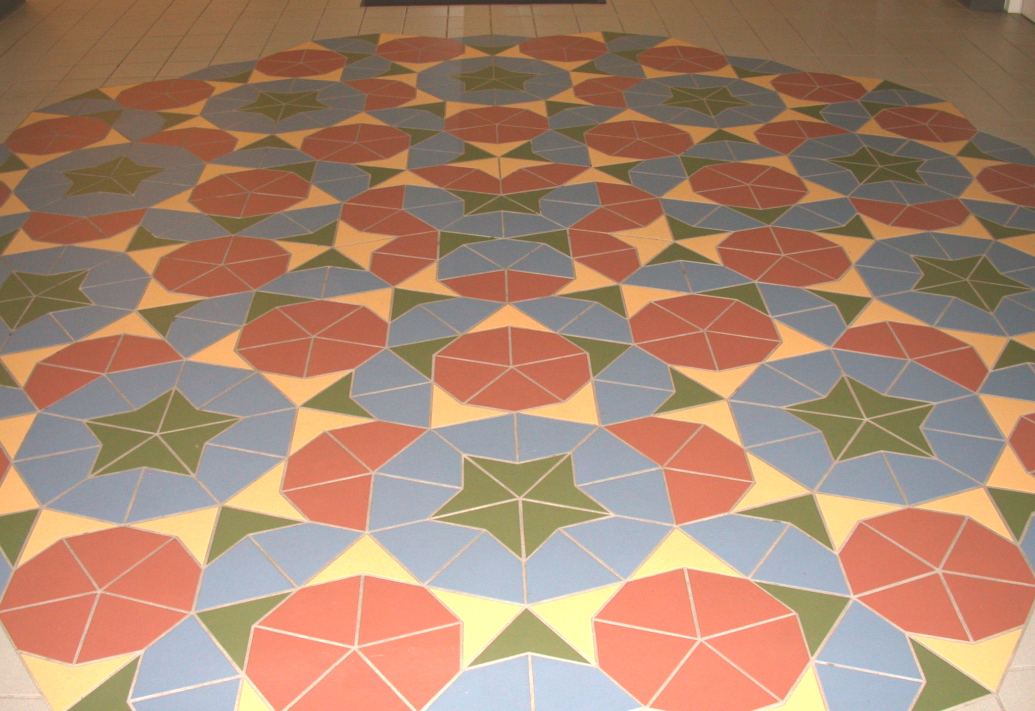 Penrose tile aperiodic tiling science centers dailygadgetfo Image collections